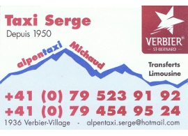 Carte de Michaud Serge